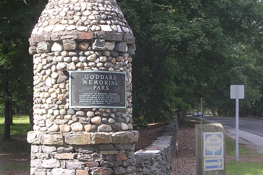 Goddard State Park: Warwick, Rhode Island