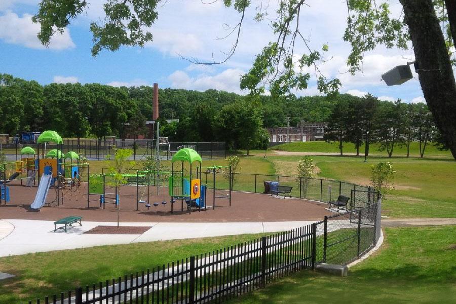 World War II Memorial Park: Woonsocket, Rhode Island
