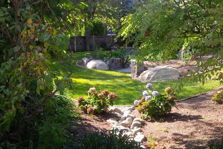 Backyard Retreat: Jamestown, Rhode Island